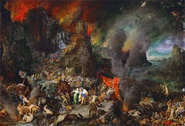 Jan Bruegel the Elder | Aeneas and the Sibyl in Hades, a.1600 | Giclée Canvas Print
