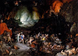 Jan Bruegel the Elder | Aeneas and the Sibyl in the Underworld, c.1600 | Giclée Canvas Print