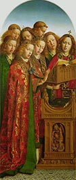 Jan van Eyck | The Singing Angels (The Ghent Altarpiece), 1432 | Giclée Canvas Print