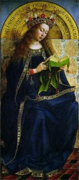 Jan van Eyck | The Virgin Mary (The Ghent Altarpiece) | Giclée Canvas Print