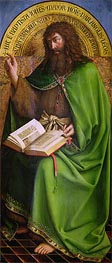 Jan van Eyck | John the Baptist (The Ghent Altarpiece) | Giclée Canvas Print