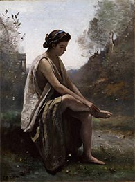 Corot | The Wounded Eurydice | Giclée Canvas Print
