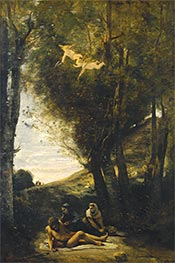 Corot | Saint Sebastian Succored by the Holy Women | Giclée Canvas Print