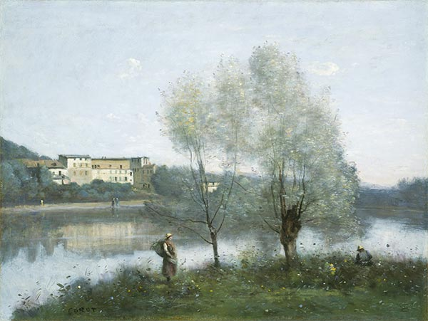 Ville-d'Avray, c.1865 | Corot | Painting Reproduction