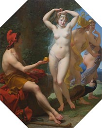 Baron Jean Baptiste Regnault | The Judgment of Paris | Giclée Canvas Print