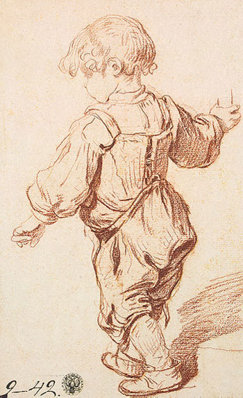 Study of a Boy Walking, c.1765/69   Jean-Baptiste Greuze   Painting Reproduction