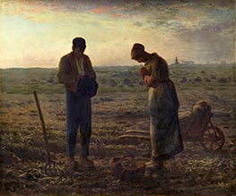 Millet | The Angelus, c.1857/59 | Giclée Canvas Print
