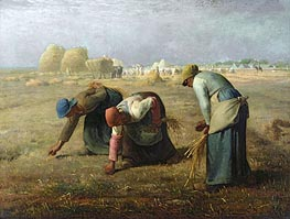 Millet | The Gleaners, 1857 | Giclée Canvas Print