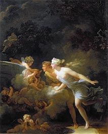 Fragonard | The Fountain of Love, c.1785 | Giclée Canvas Print