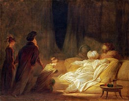 Fragonard | The Pasha, undated | Giclée Canvas Print