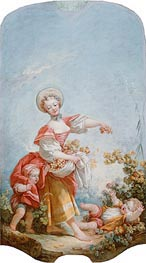 Fragonard | The Grape Gatherer, c.1748/52 | Giclée Canvas Print