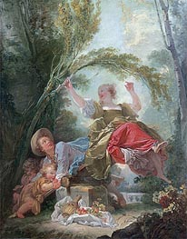Fragonard | The See-Saw, c.1750/52 | Giclée Canvas Print