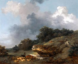 Fragonard | The Watering Place, c.1763/65 | Giclée Canvas Print