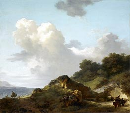 Fragonard | The Rock, c.1763/65 | Giclée Canvas Print