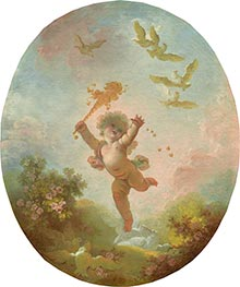 Fragonard | Love as Folly, c.1773/76 | Giclée Canvas Print