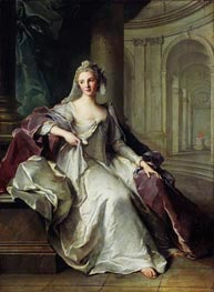 Jean-Marc Nattier | Portrait of Madame Henriette de France as a Vestal Virgin | Giclée Canvas Print
