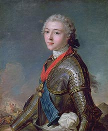Jean-Marc Nattier | Louis Jean Marie de Bourbon Duke of Penthievre, 1743 | Giclée Canvas Print