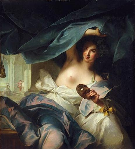 Thalia, Muse of Comedy, 1739 | Jean-Marc Nattier | Giclée Canvas Print