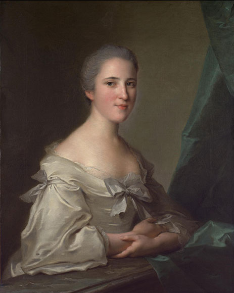 Portrait of Elizabeth Countess of Warwick, 1754 | Jean-Marc Nattier | Painting Reproduction