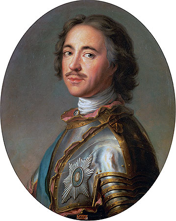 Czar Peter the Great, 1725 | Jean-Marc Nattier | Painting Reproduction