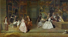 Watteau | The Gersaint Shop Sign | Giclée Canvas Print