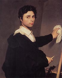 Ingres |  Ingres as a Young Man | Giclée Canvas Print