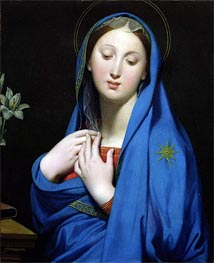 Ingres | Virgin of the Adoption | Giclée Canvas Print