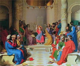 Ingres | Jesus Among the Doctors | Giclée Canvas Print