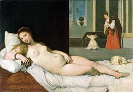 Ingres | Reclining Venus (After Titian) | Giclée Canvas Print
