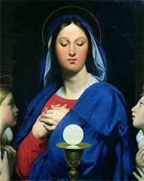 Ingres | The Virgin of the Host | Giclée Canvas Print