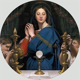 Ingres | The Virgin of the Host | Giclée Paper Print
