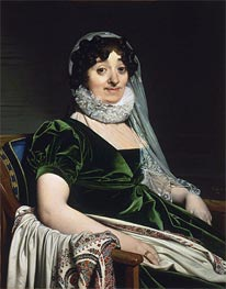 Ingres | Portrait of the Countess of Tournon | Giclée Paper Print