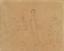 Ingres | Portrait of the Forestier Family | Giclée Paper Print
