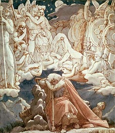 Ingres | The Dream of Ossian | Giclée Paper Print