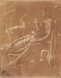 Ingres | Study for 'Virgil Reading the Aeneid to Augustus' | Giclée Paper Print