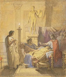 Ingres | Virgil Reading the Aeneid to Augustus | Giclée Paper Print