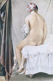 Ingres | The Bather | Giclée Paper Print