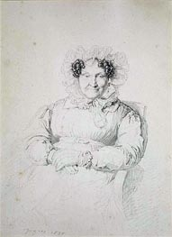 Ingres | Portait of a Lady | Giclée Paper Print
