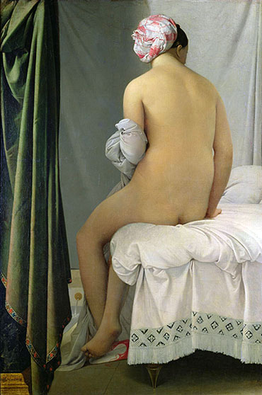 Valpincon Bather, 1808 | Ingres | Giclée Canvas Print