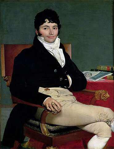 Philibert Riviere, 1805 | Ingres | Giclée Canvas Print