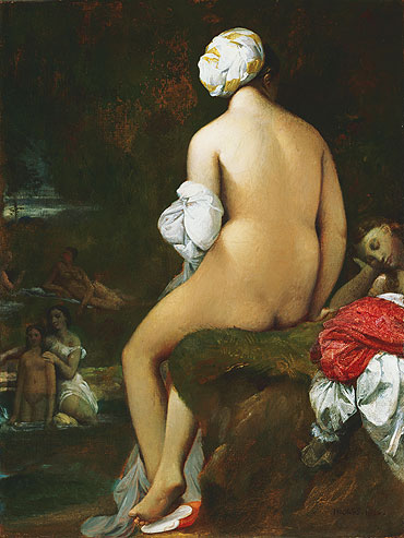 The Small Bather, 1826 | Ingres | Giclée Canvas Print