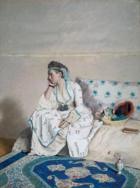 Jean Etienne Liotard | Portrait of Mary Gunning Countess of Coventry in Turkish Costume, c.1752/54 | Giclée Paper Print