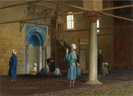 Gerome | Prayer in the Mosque | Giclée Canvas Print