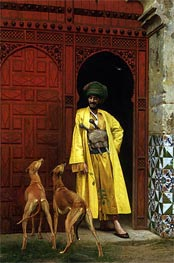 Gerome | An Arab and His Dogs | Giclée Canvas Print