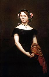Gerome | Portrait of Mademoiselle Durand | Giclée Canvas Print