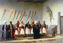 Gerome | Prayer in the House of an Arnaut Chief, 1857 | Giclée Canvas Print