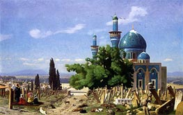 Gerome | The Green Mosque at Broussa | Giclée Canvas Print
