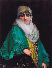 Gerome | Woman from Constantinople | Giclée Canvas Print