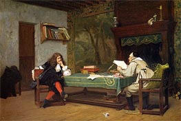 Gerome | A Collaboration Corneille and Moliere | Giclée Canvas Print