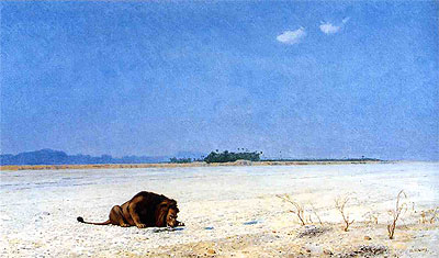 Thirst, undated | Gerome | Painting Reproduction